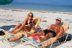 Bonita Bay Residents indulge in some Florida Gulf Coast sunshine