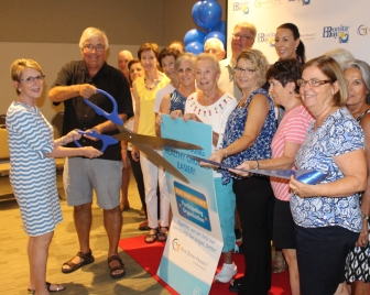 Ribbon Cutting Crop